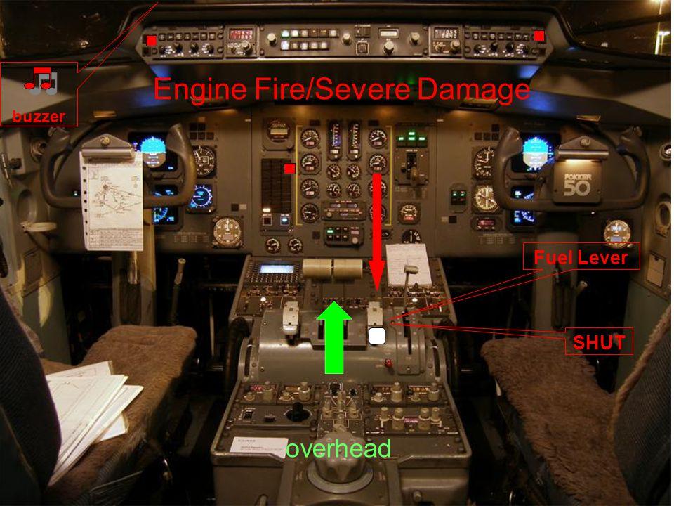 Engine Fire/Severe Damage