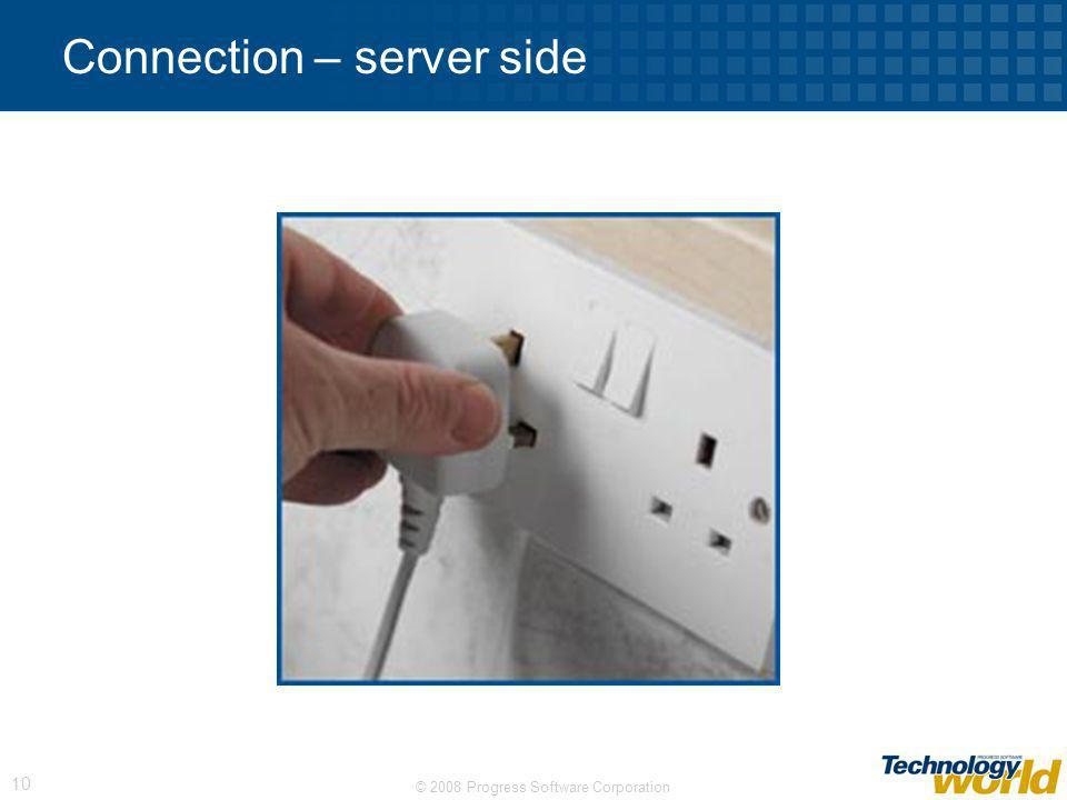 Connection – server side