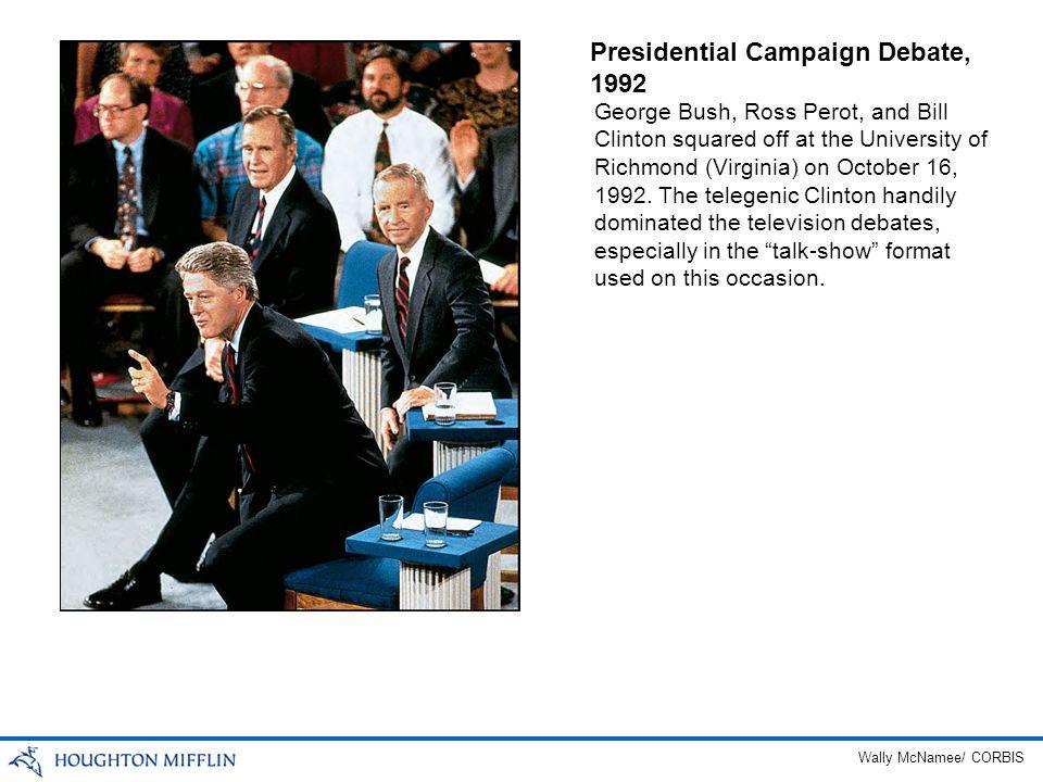 Presidential Campaign Debate, 1992
