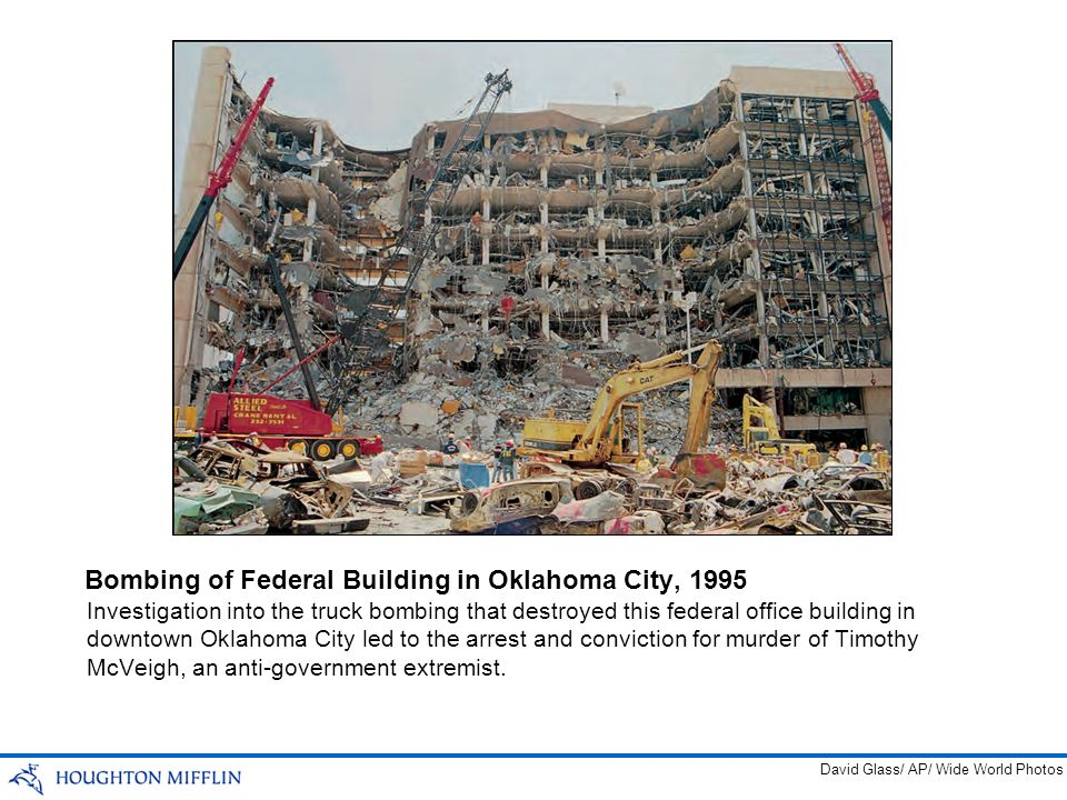 Bombing of Federal Building in Oklahoma City, 1995