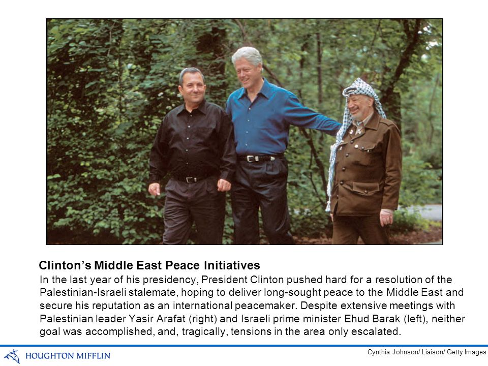 Clinton's Middle East Peace Initiatives