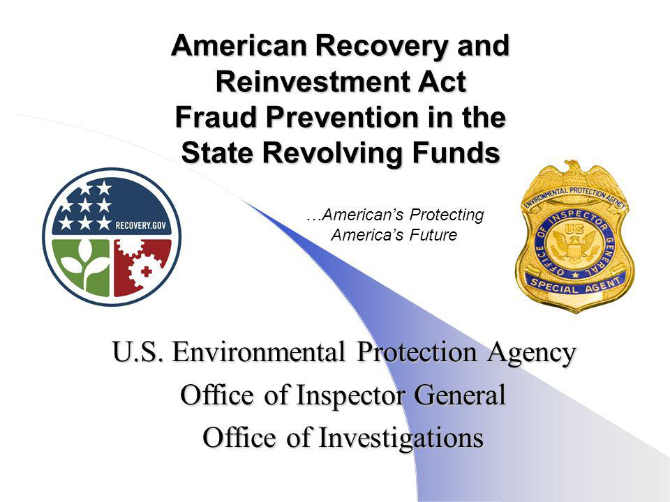 U.S. Environmental Protection Agency Office of Inspector General