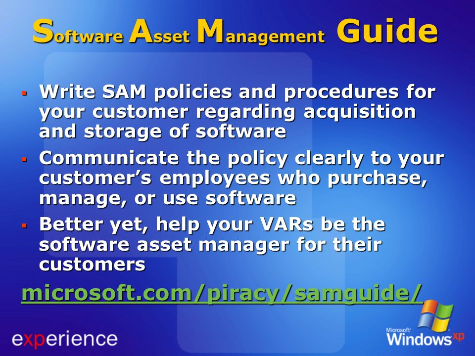 Software Asset Management Guide