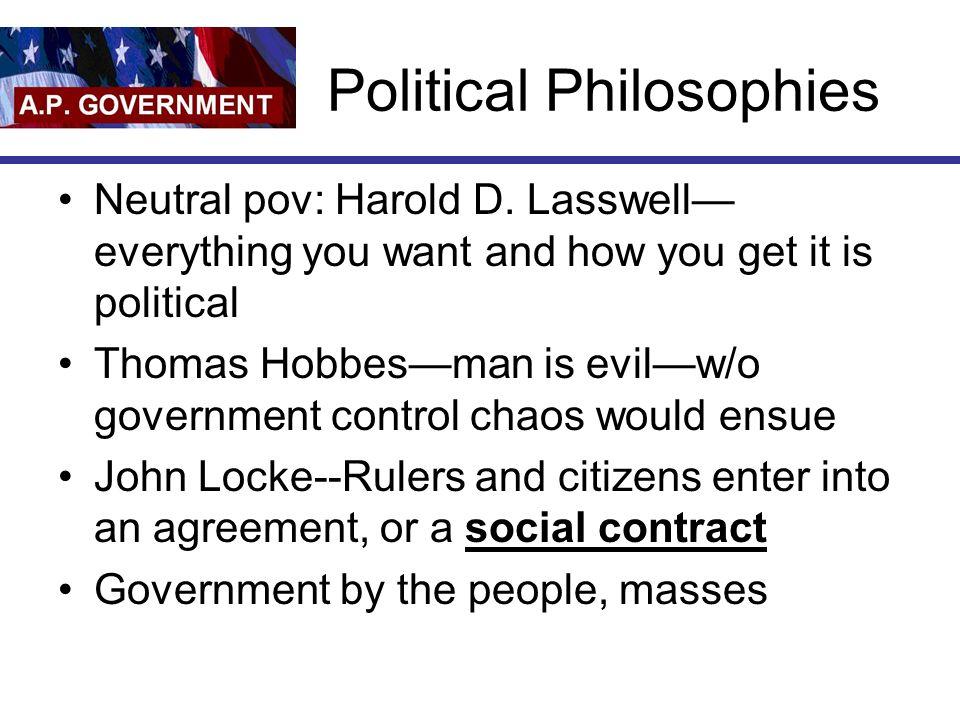 Political Philosophies