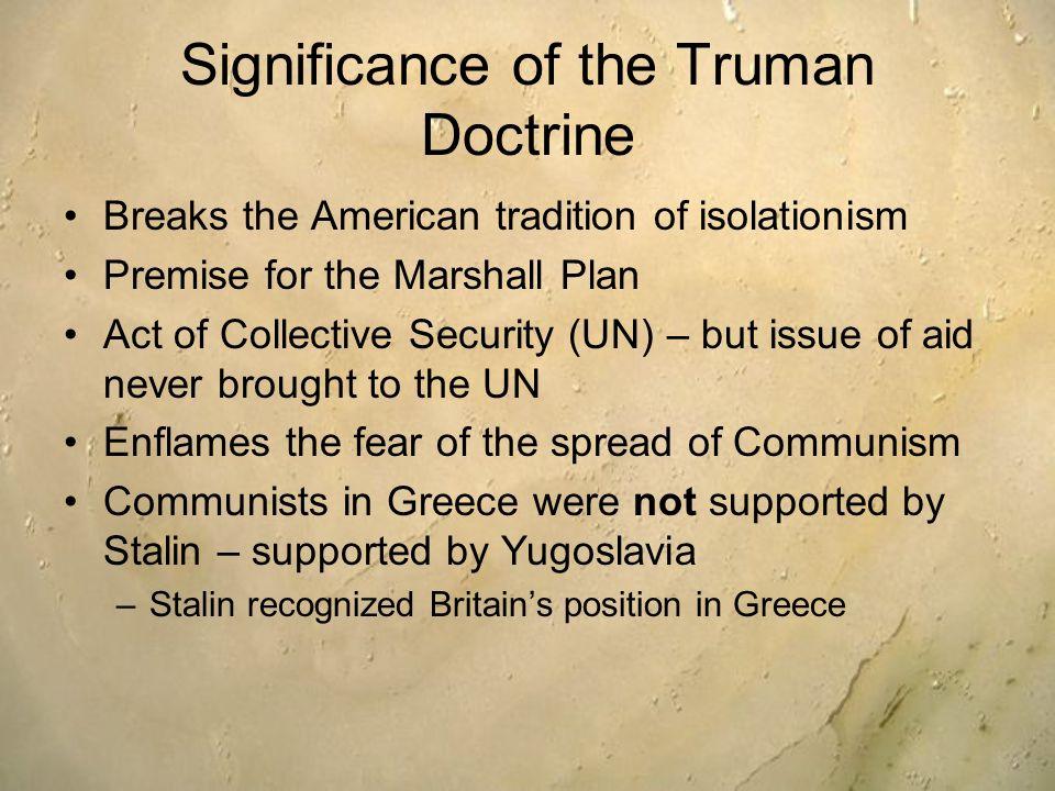 essays on the truman doctrine