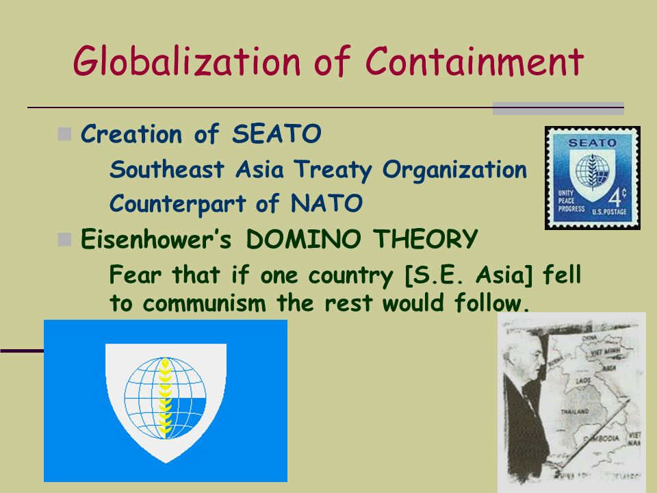 Globalization of Containment