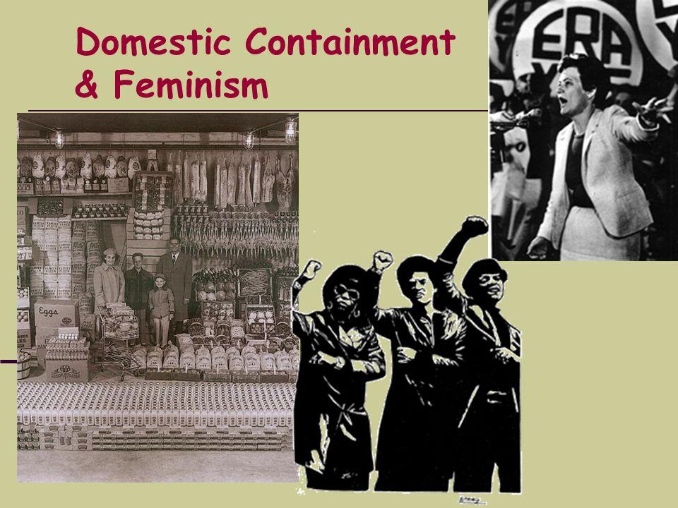 Domestic Containment & Feminism