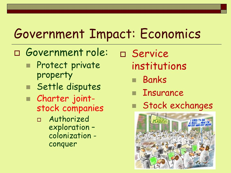 Government Impact: Economics