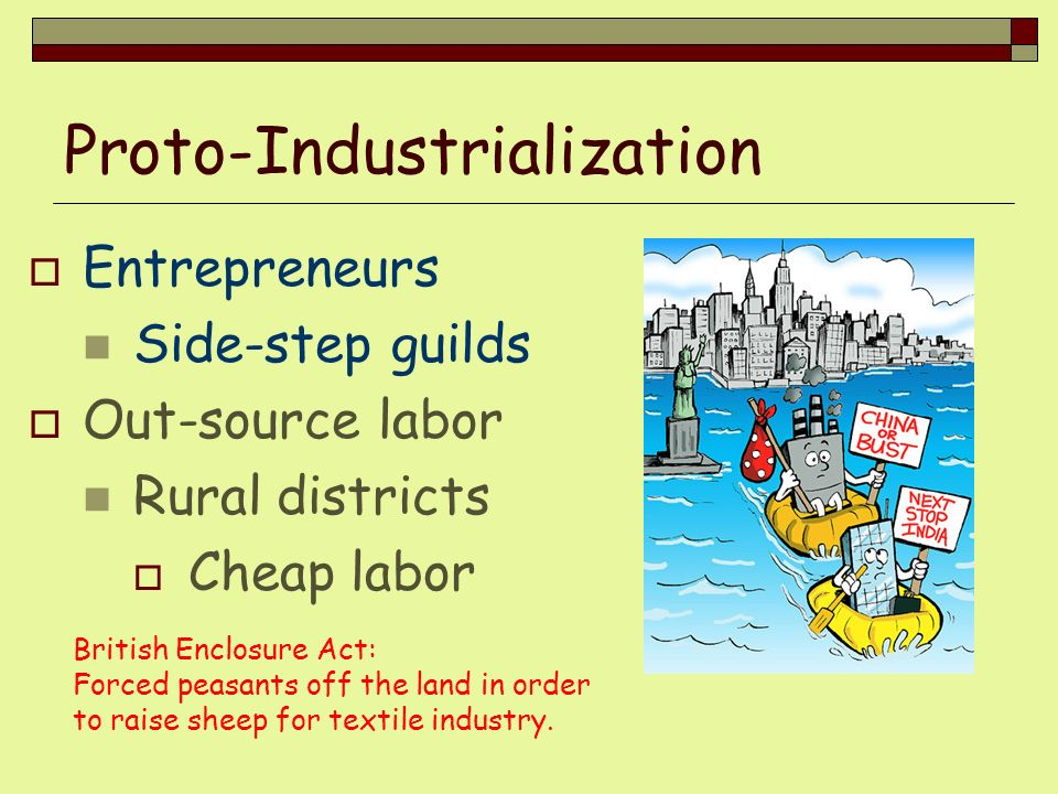 Proto-Industrialization