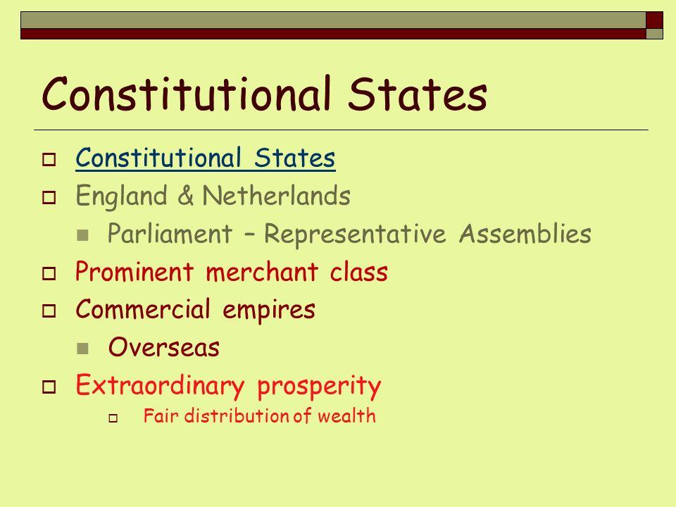 Constitutional States
