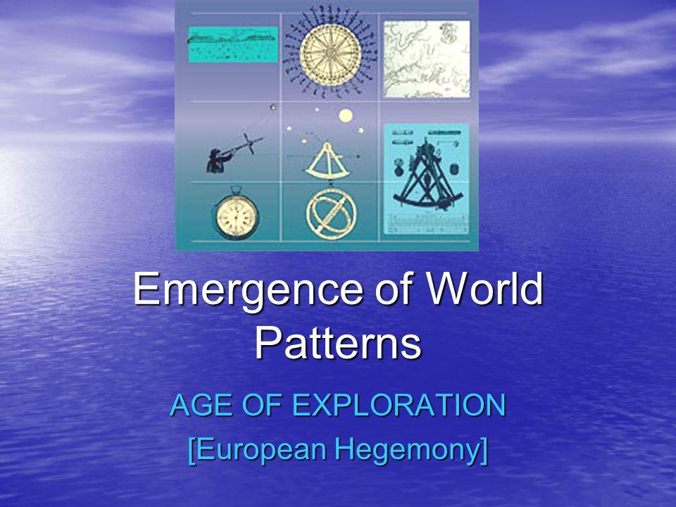 Emergence of World Patterns