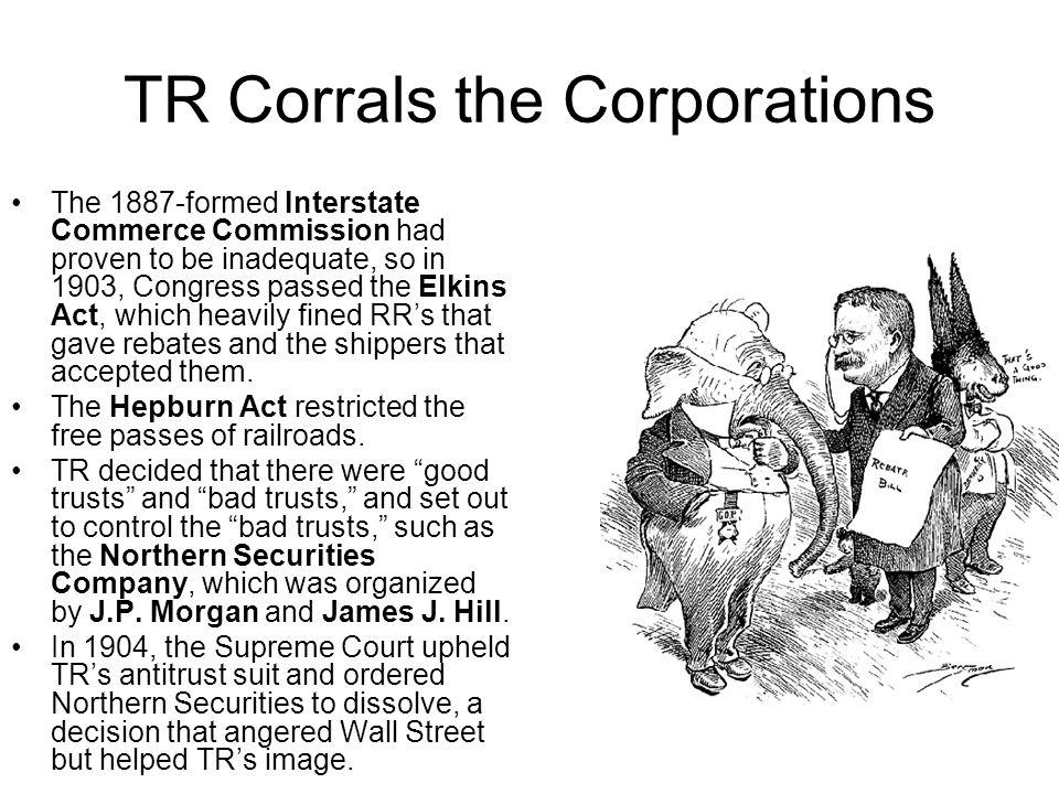 TR Corrals the Corporations