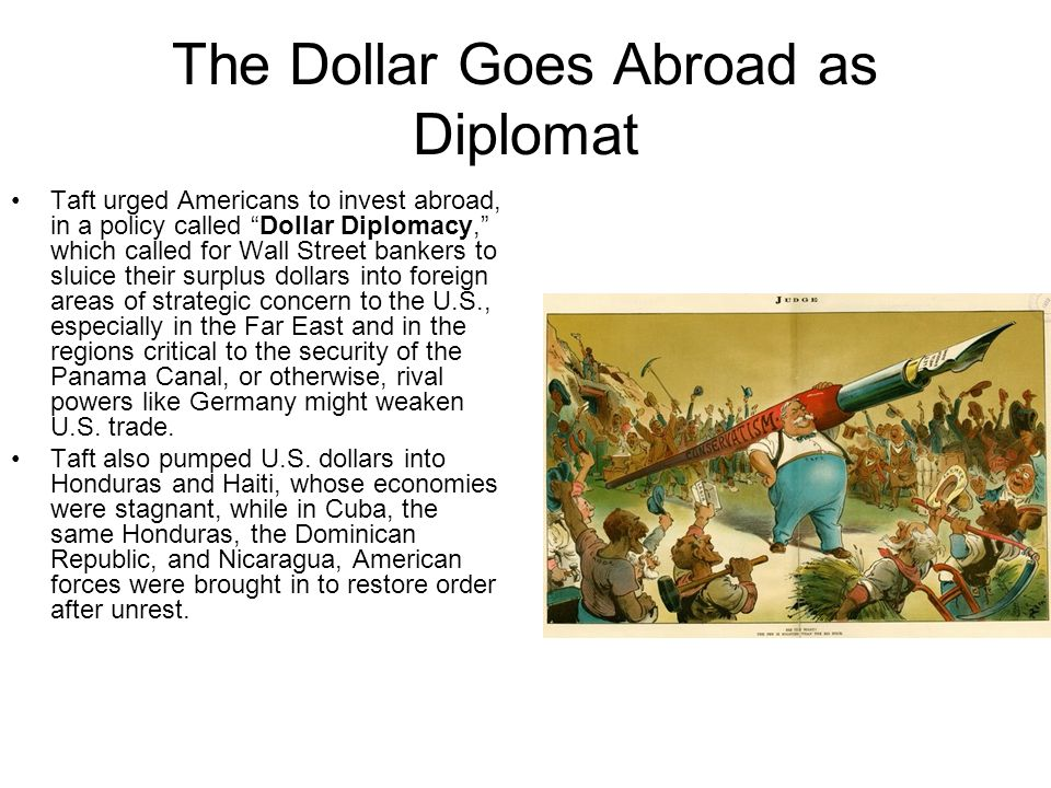 The Dollar Goes Abroad as Diplomat