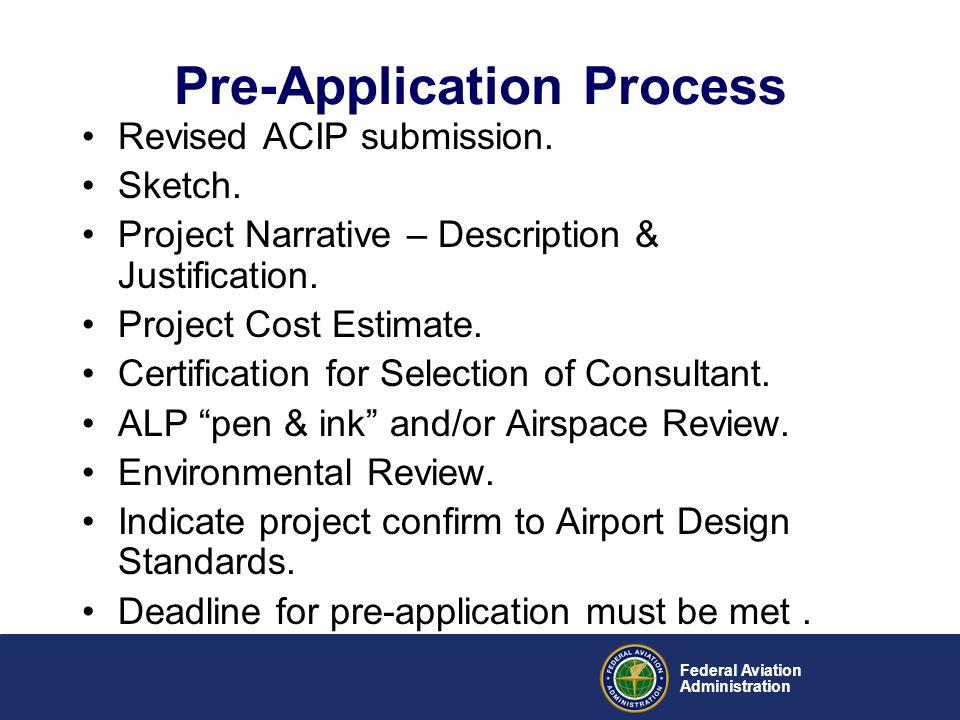 Pre-Application Process