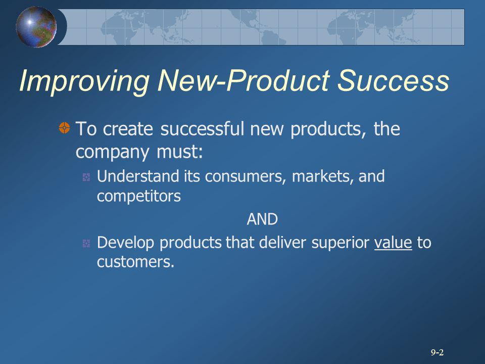 Improving New-Product Success