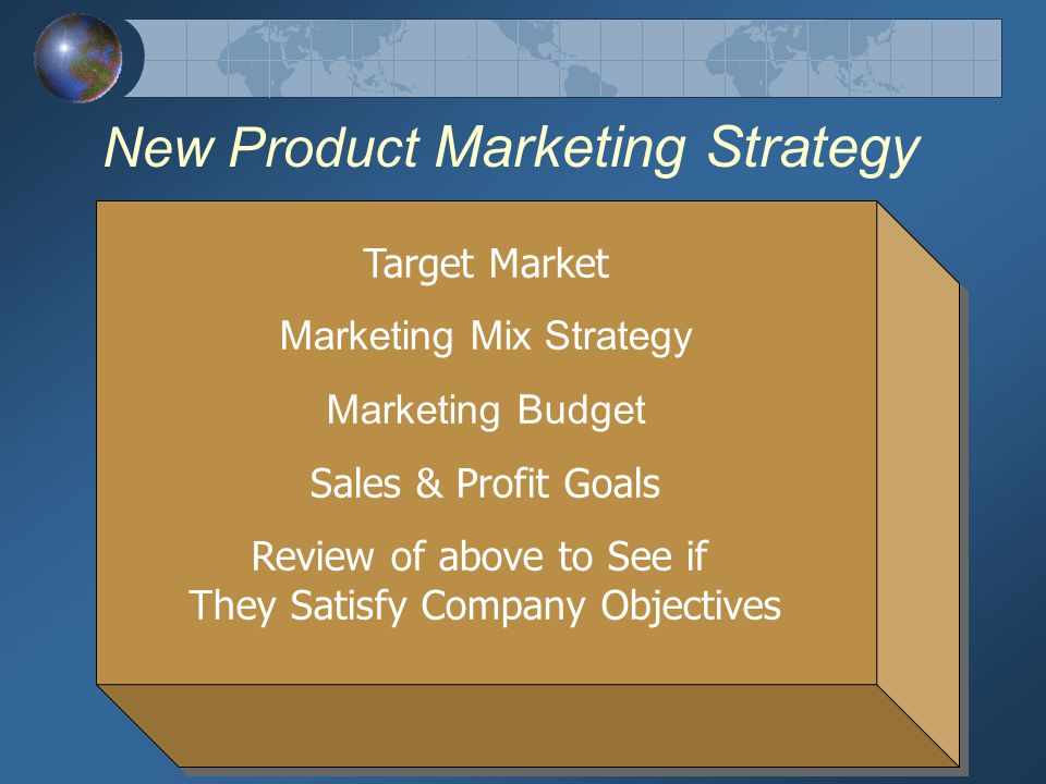 New Product Marketing Strategy