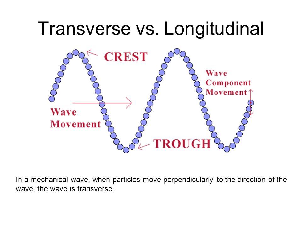 Transverse vs. Longitudinal
