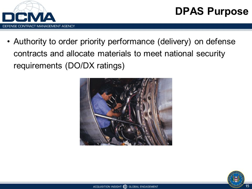 DPAS Purpose
