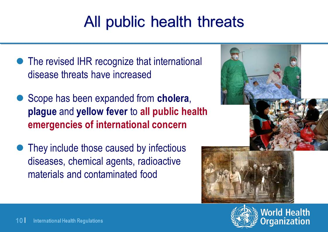 All public health threats