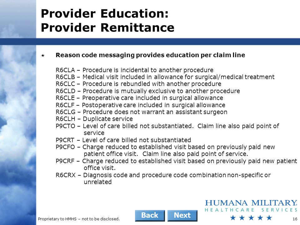 Provider Education: Provider Remittance