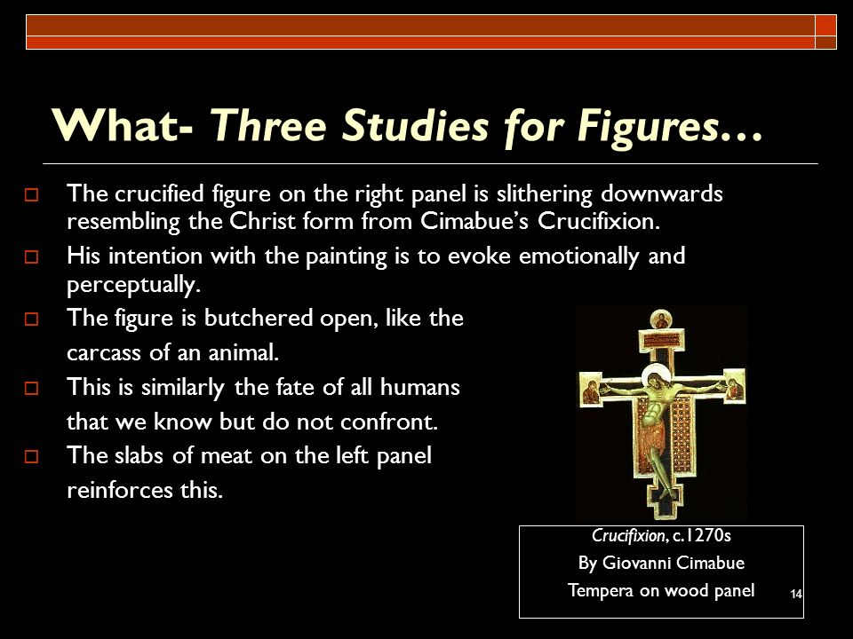 What- Three Studies for Figures…