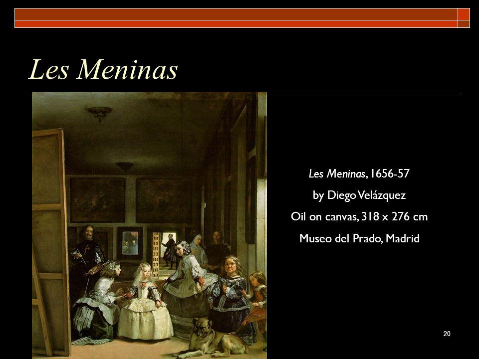 Les Meninas Les Meninas, 1656-57 by Diego Velázquez