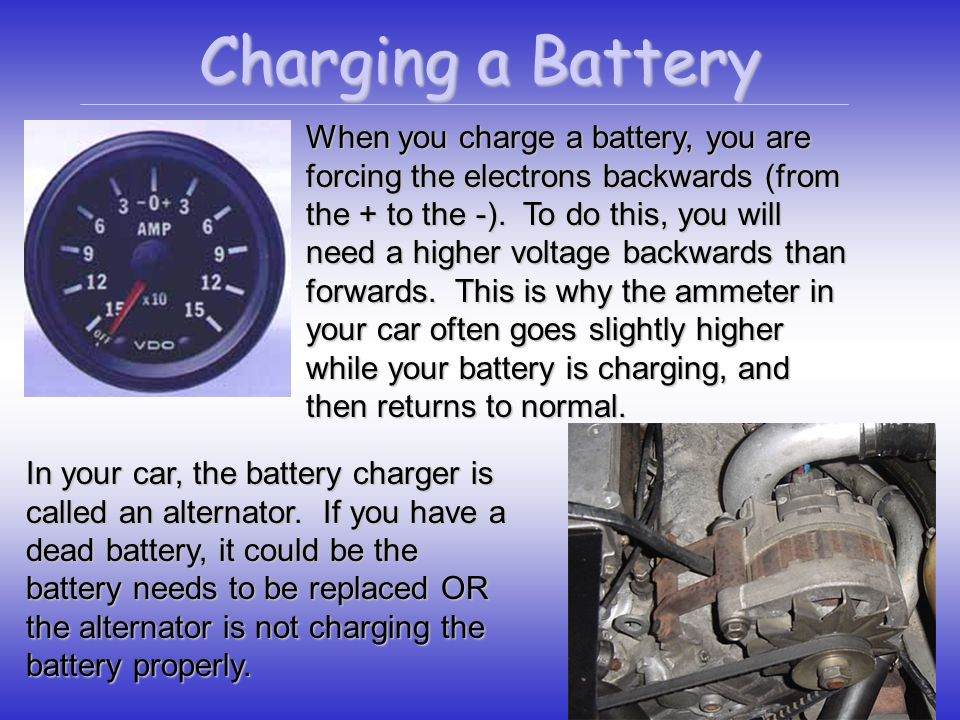 Charging a Battery