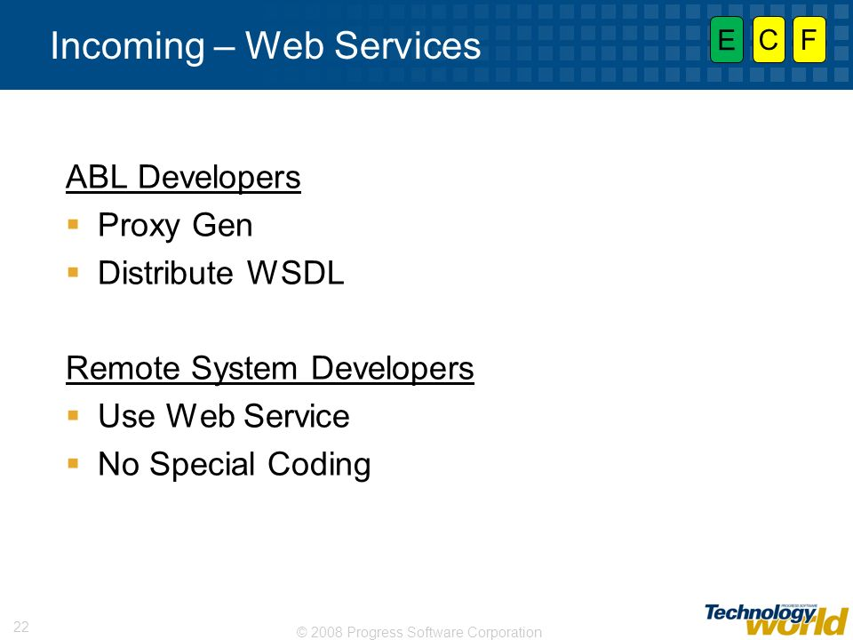 Incoming – Web Services