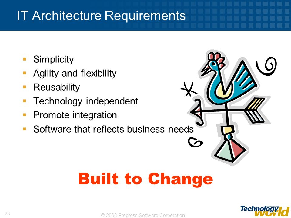 IT Architecture Requirements