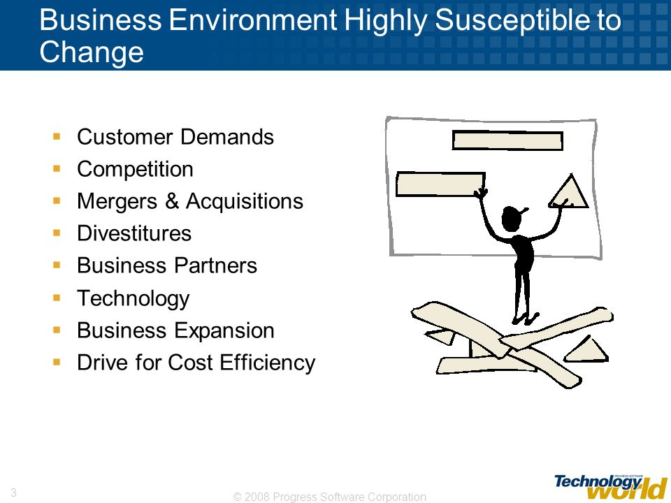 Business Environment Highly Susceptible to Change