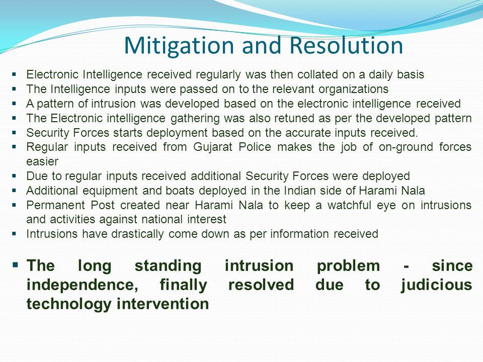 Mitigation and Resolution