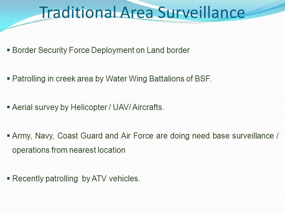 Traditional Area Surveillance