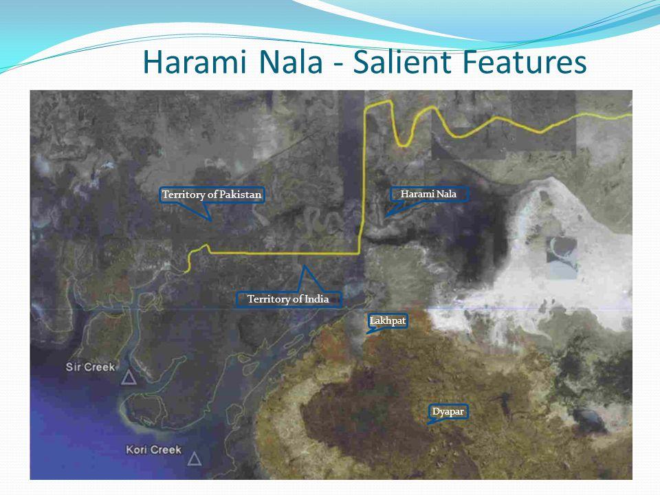 Harami Nala - Salient Features