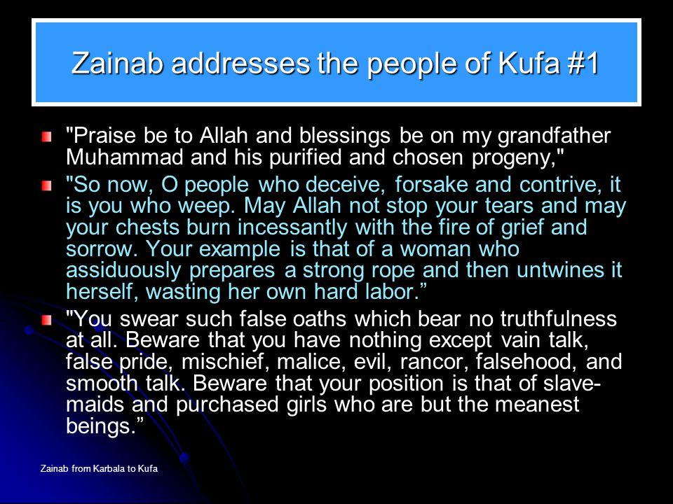 Zainab addresses the people of Kufa #1
