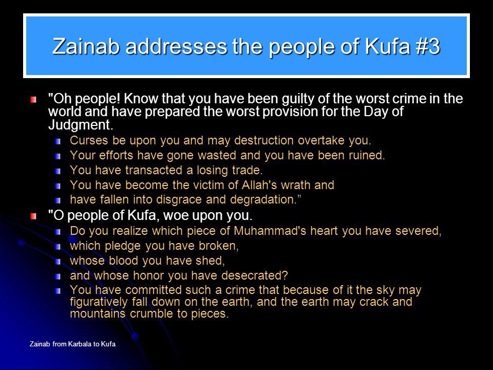 Zainab addresses the people of Kufa #3
