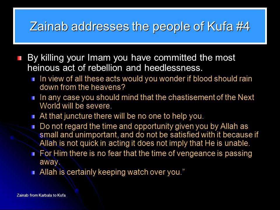 Zainab addresses the people of Kufa #4