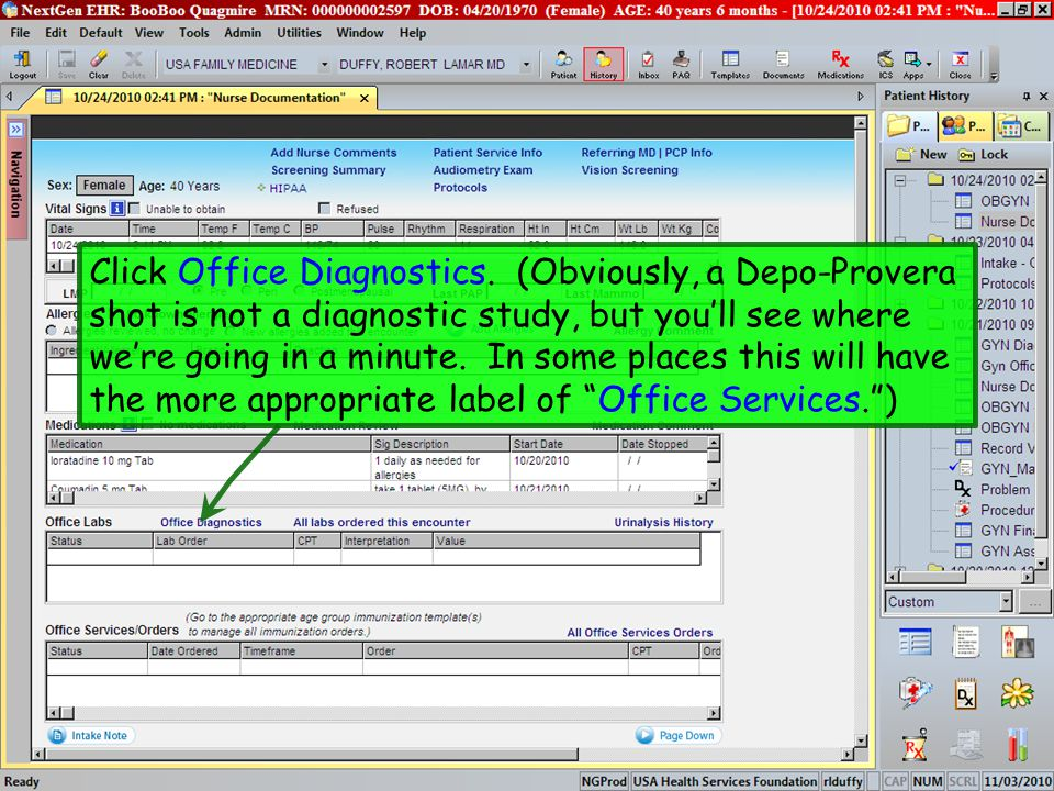 Click Office Diagnostics