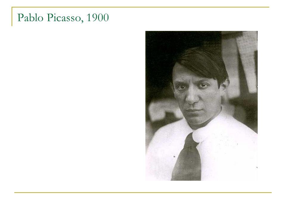 Pablo Picasso, 1900
