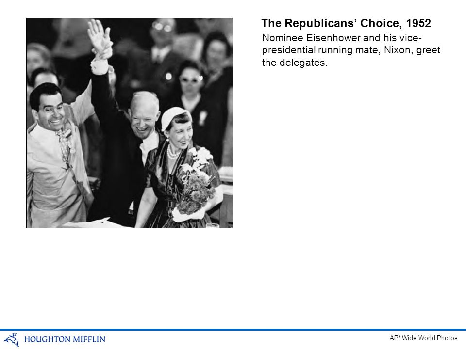 The Republicans' Choice, 1952