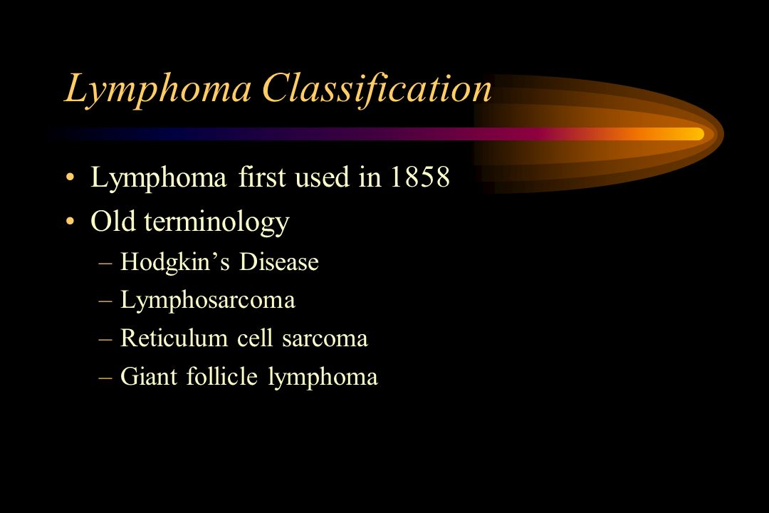 Lymphoma Classification