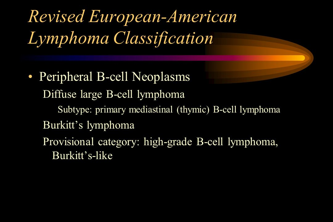 Revised European-American Lymphoma Classification