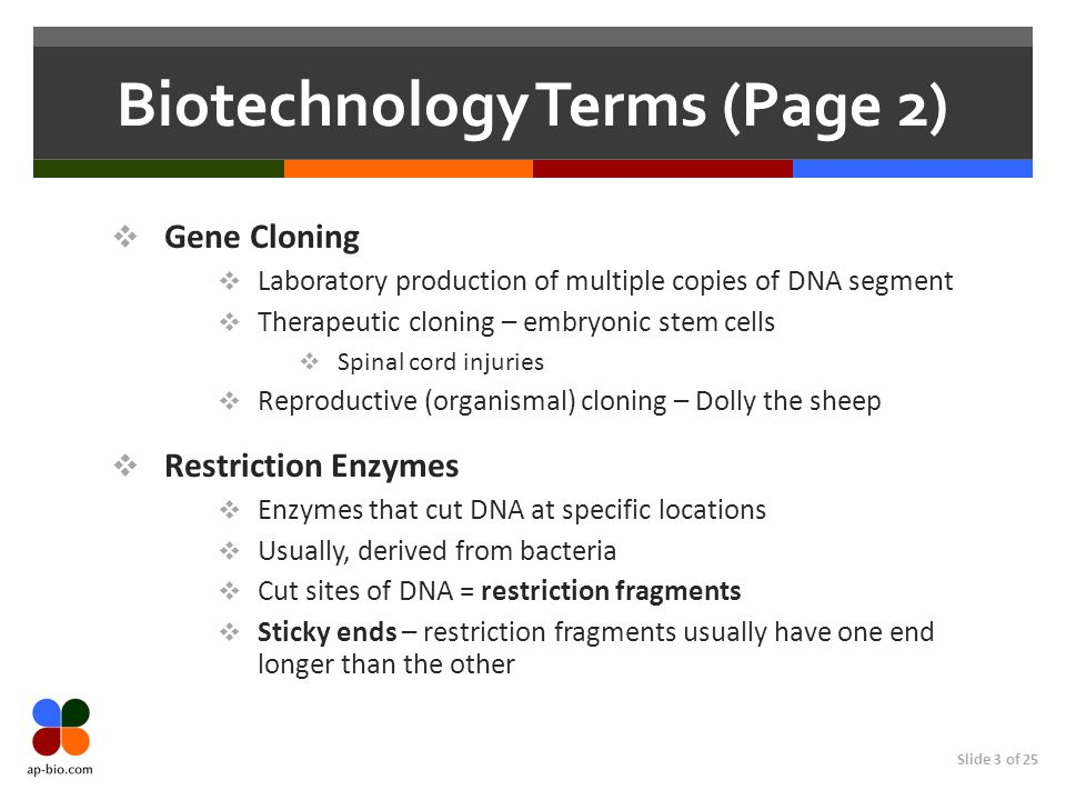Biotechnology Terms (Page 2)