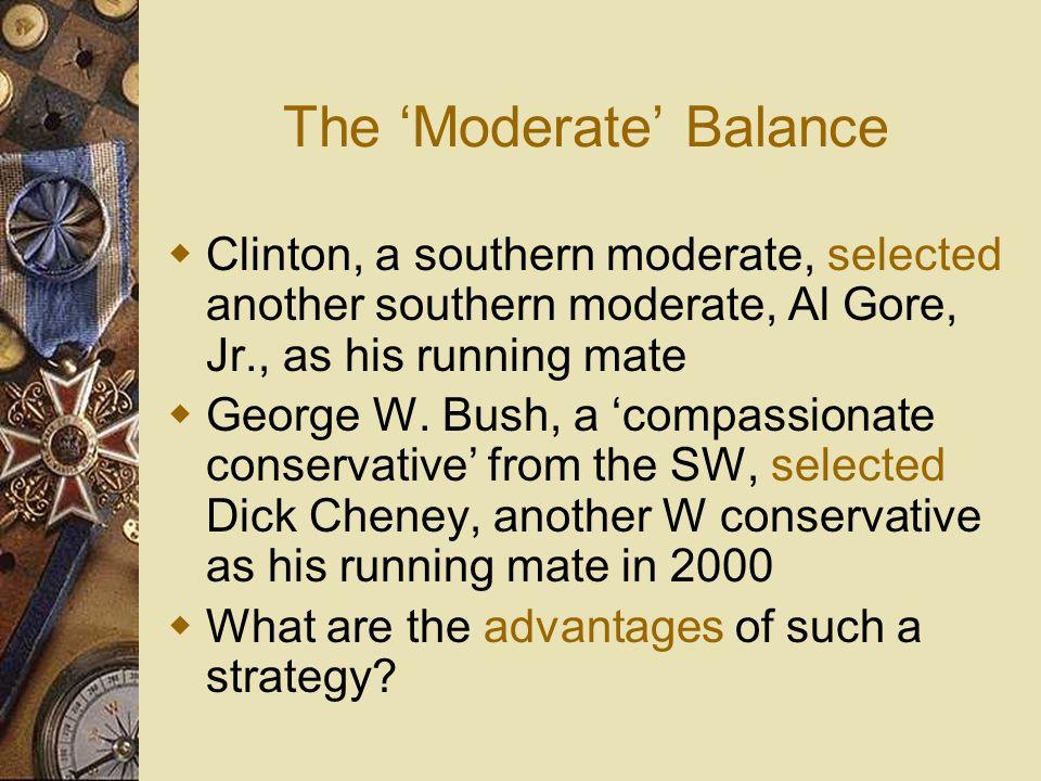 The 'Moderate' Balance