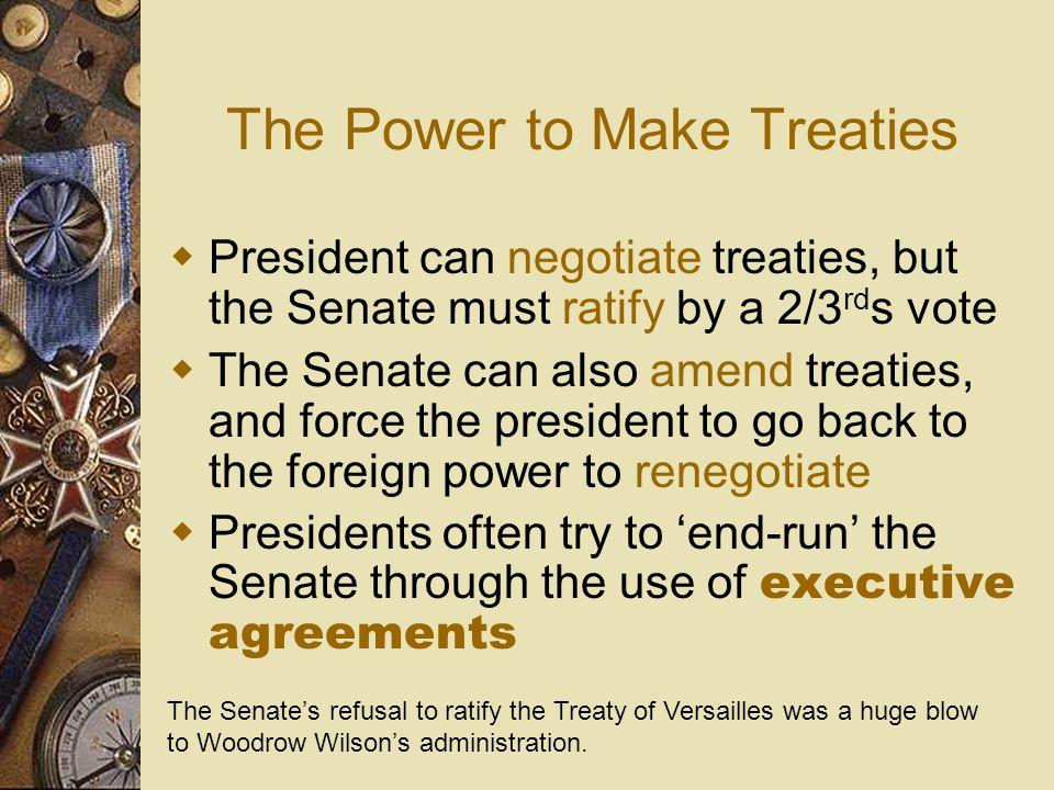 The Power to Make Treaties