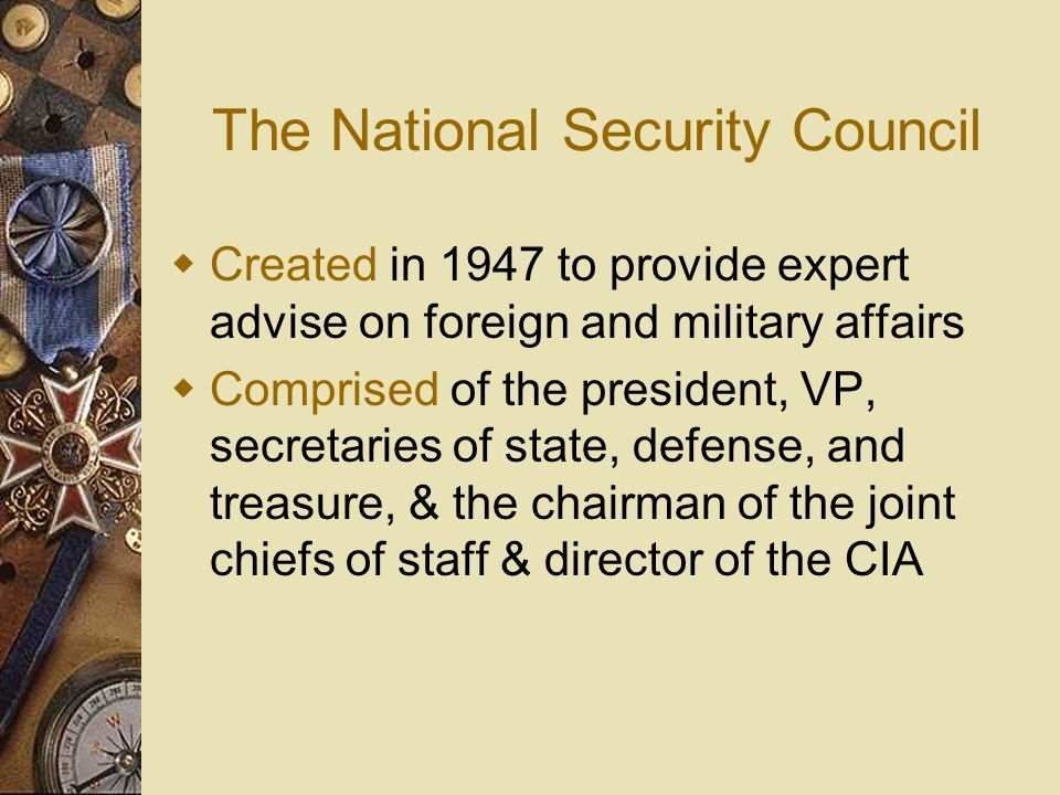 The National Security Council