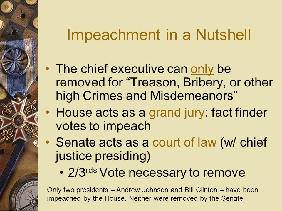 Impeachment in a Nutshell