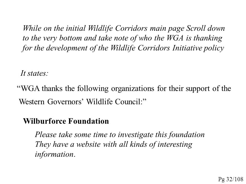 WGA thanks the following organizations for their support of the