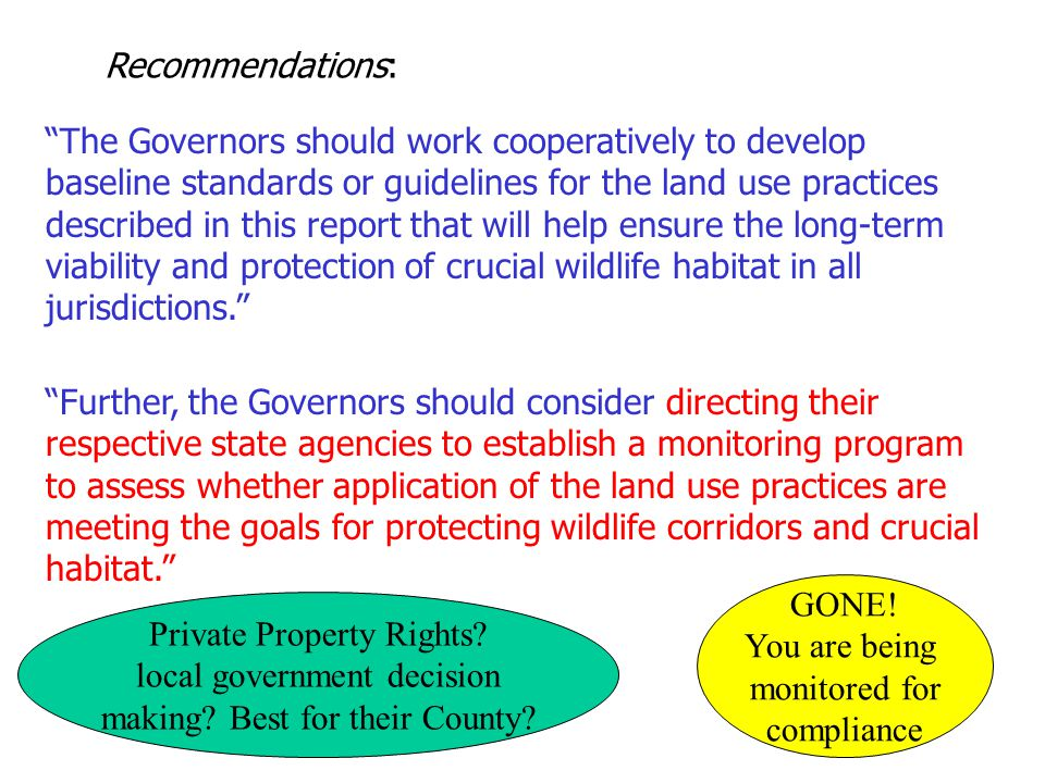 Private Property Rights local government decision