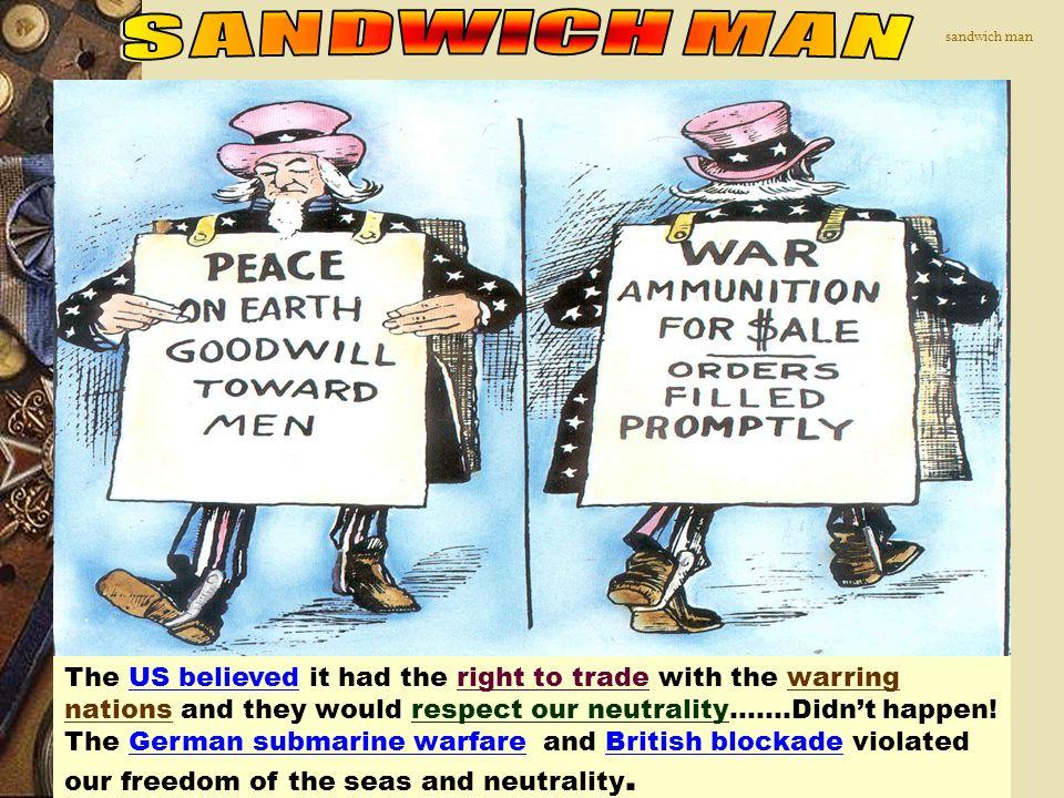 SANDWICH MAN sandwich man.