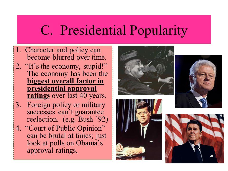 C. Presidential Popularity